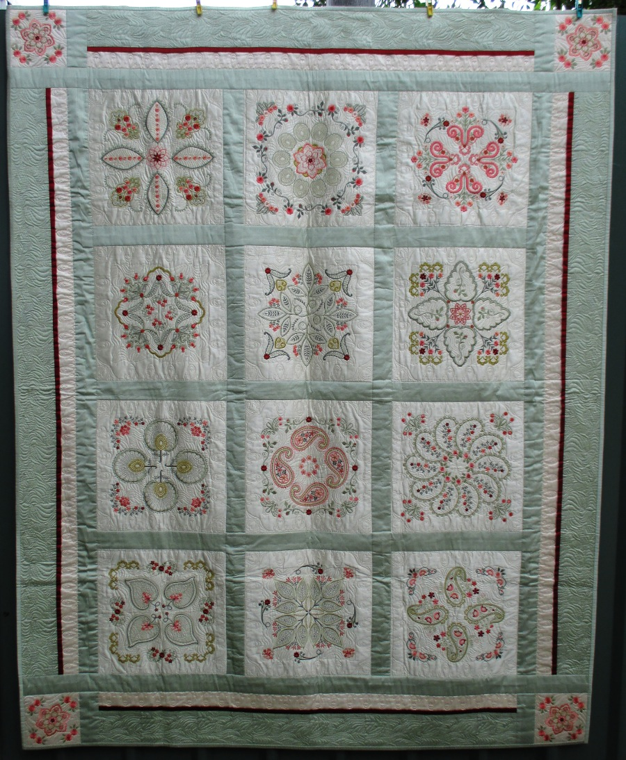 Machine embroidery quilts studio jane grove